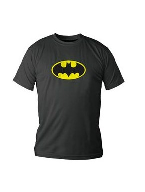 Camiseta Batman en lata