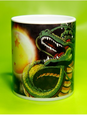 Taza Dragon Ball Shenron y Sushinchu