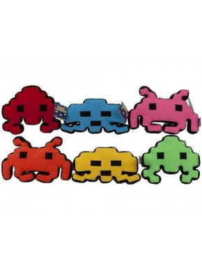Peluche Space Invaders Colores 30 cm