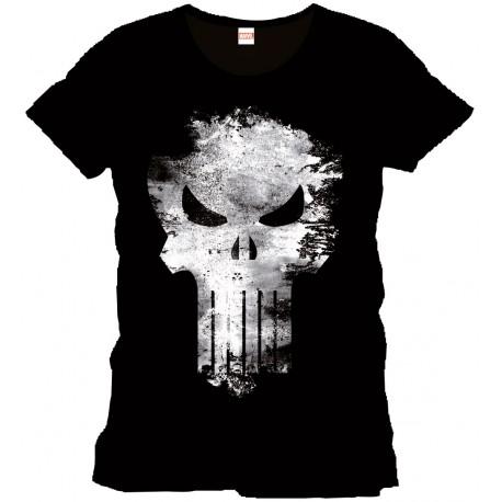 Camiseta Punisher Distress Skull