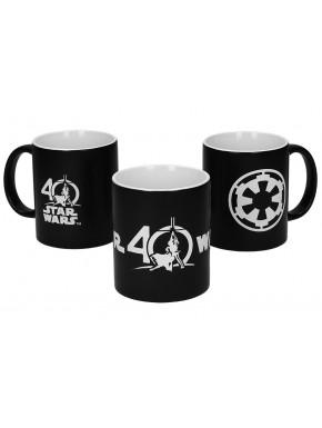 Set Tazas Star Wars Edición Limitada Especial 40 Aniversario