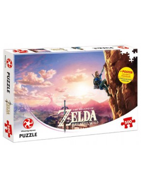 Puzzle Zelda Breath of the Wild Climbing