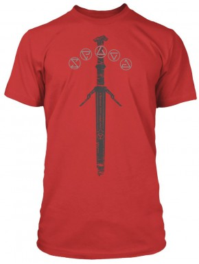 Camiseta The Witcher Silver Sword