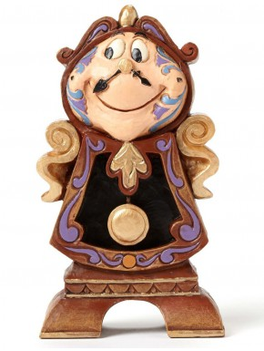 Figura Disney Ding Dong La Bella y la Bestia Jim Shore Keeping Watch