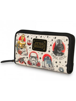 Cartera Loungefly Star Wars Personajes Tattoo