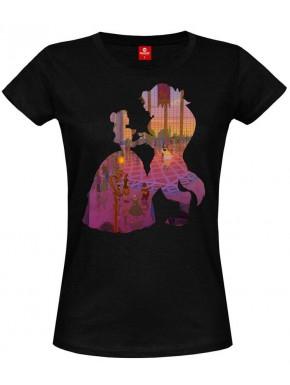 Camiseta Chica Disney La Bella y la Bestia Baile