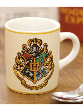 Mini Taza Harry Potter Hogwarts Crest