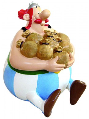 Hucha Obelix Asterix El Galo 20 cm