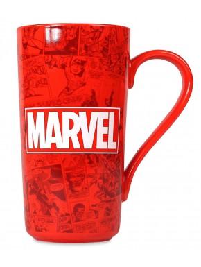 Taza Marvel Logo Latte 550 ml
