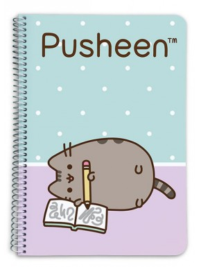 Cuaderno espiral Pusheen the cat