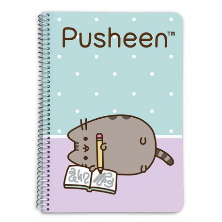 Cuaderno espiral Pusheen the cat