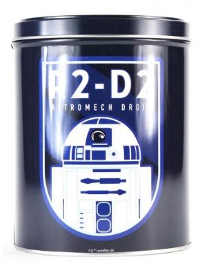 Bote de latón retro R2-D2 Star Wars