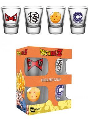 Vasos chupito Dragon Ball