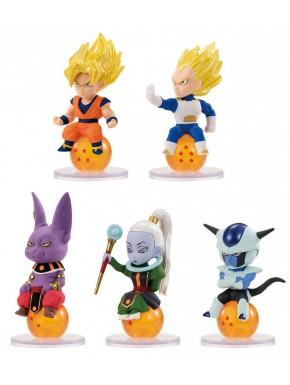 Figuritas Sorpresa Dragon Ball Bandai Charapucchi