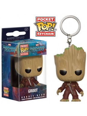 Llavero mini Funko Pop! Groot Guardianes de la Galaxia Vol. 2