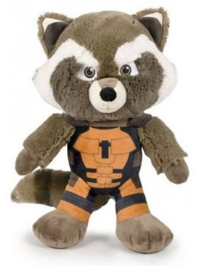 Peluche Rocket Raccoon Guardianes de la Galaxia 25 cm
