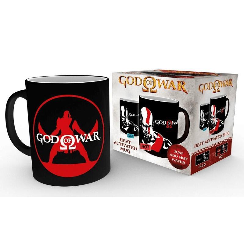 Taza t rmica god of war kratos por solo 12 90 - Taza termica para cafe ...