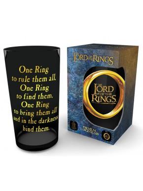 Vaso cristal El Señor de los Anillos One Ring 500 ml