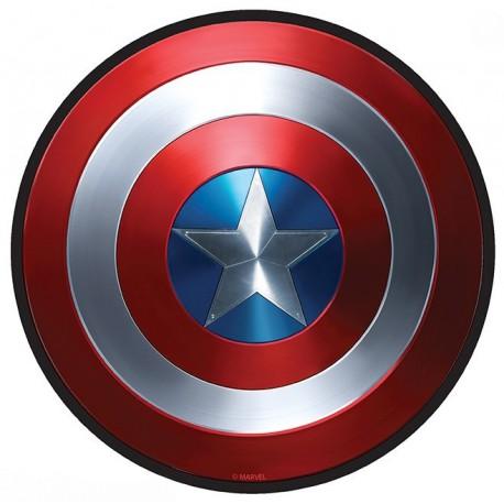 Alfombrilla Capitán América Escudo Marvel