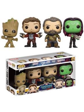 Funko Pop! Pack 4 Guardianes de la Galaxia 2