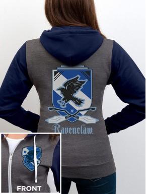 Sudadera Harry Potter Ravenclaw con cremallera