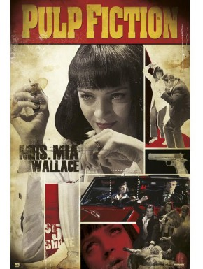 Poster Pulp Fiction Mia