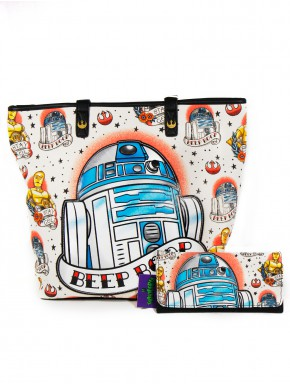 Pack Loungefly R2D2 tattoo