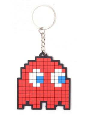 Llavero caucho Pac-Man Blinky