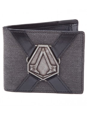 Cartera Assassin's Creed Syndicate Logo Metálico