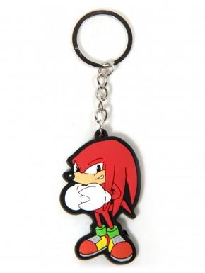 Llavero caucho Sonic Knuckles 5,5cm