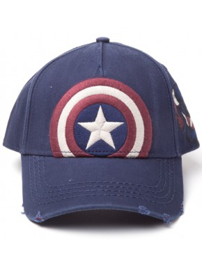 Gorra Capitán América Marvel Vintage