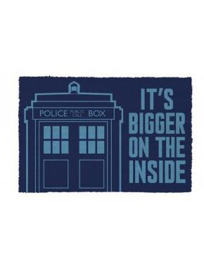 Felpudo coco Doctor Who Tardis