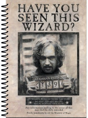 Libreta Harry Potter Wanted