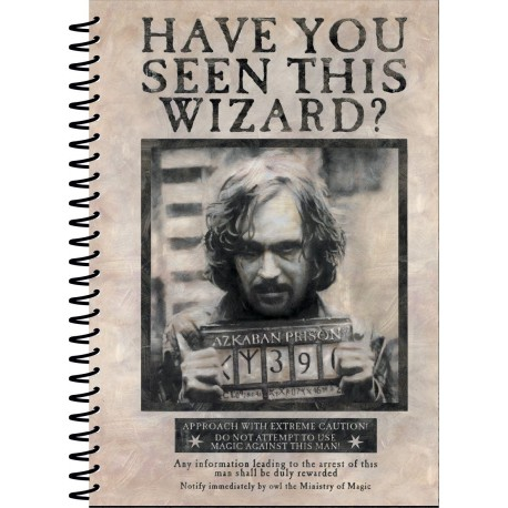 Libreta Harry Potter Wanted