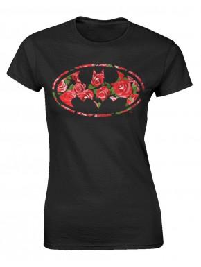 Camiseta Chica Batman Rose