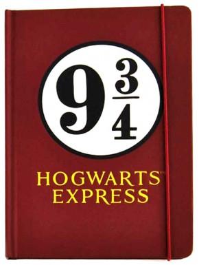 Libreta Premium A5 Harry Potter Plataforma 9 y 3/4
