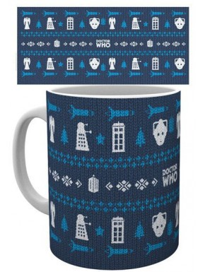 Taza Doctor Who Ugly Sweater