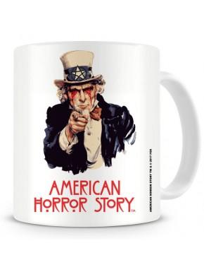 Taza American Horror Story Tío Sam
