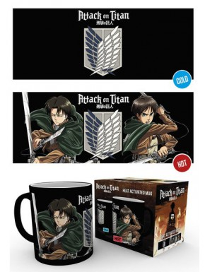 Taza Térmica Attack on Titan Scouts