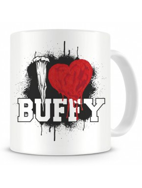 Taza Buffy Cazavampiros I love School