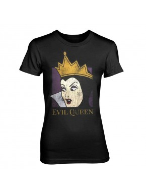 Camiseta Chica Disney Blancanieves Evil Queen