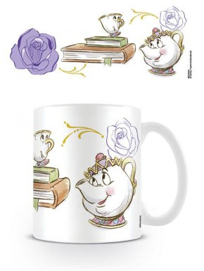 Taza Bella y Bestia Chip Enchanted