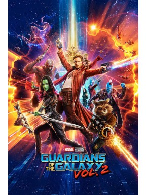 Poster Guardianes de la Galaxia Vol 2