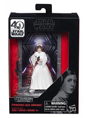 Figura Leia Ep IV Black Series Titanium