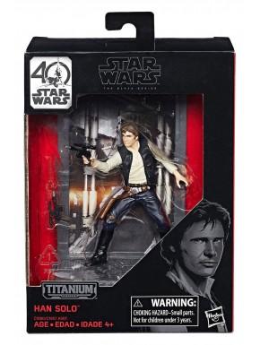 Figura Han Solo Ep IV Black Series Titanium