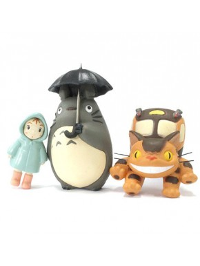 Set imanes Totoro rain