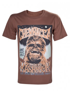 Camiseta Star Wars Chewbacca vintage