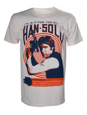 Camiseta Star Wars Han Solo vintage