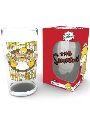 Vaso Los Simpson Have a Beer