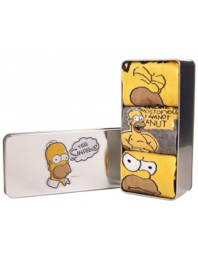 Pack 3 pares de Calcetines Los Simpson Homer